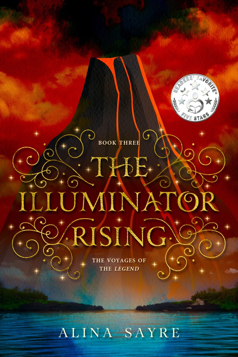 Interview with Alina Sayre, author of Illuminator Rising