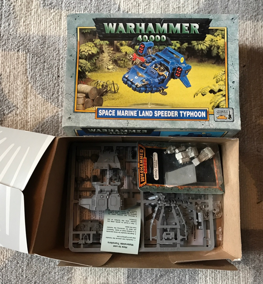 picture of the box, and the un-assembled parts